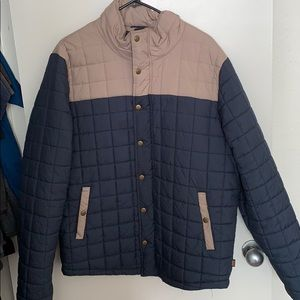 Men's puffy jacket
